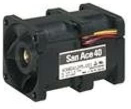 Axial Fan, San Ace 40 Series, 12 V, DC, 40 mm, 56 mm, 62 dBA, 31.8 cu.ft/min