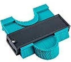 ANPHSIN 轮廓规 塑料 轮廓 不规则形状复刻器 复制圆框 轮廓 仪表工具 12.7 cm