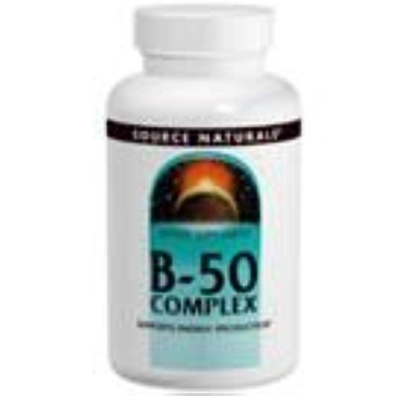 防腐剤長さ知覚Source Naturals B-50 Complex 100 Tabs [並行輸入品]