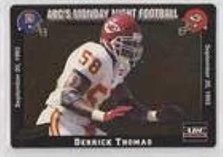 Derrick Thomas (Football Card) 1993 Action Packed Monday Night Football - [Base] #12