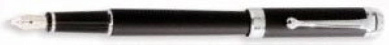 Aurora Talentum Finesse Soft Touch gummiert Füllfederhalter (schwarz) (breit) B0040QYTNE | Üppiges Design