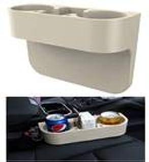 Bolsillo para Auto Consola de Coche Portavasos RoadRoma Soporte para Bebidas Consola Lateral de caf/é