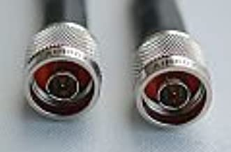 AIR802 CA400 Antenna Cable, N Plug-Male to N Plug-Male, 15 Feet (4.5 Meters)