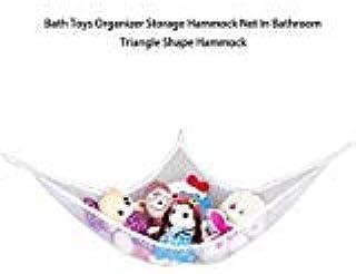 Toys Organizer Hammock - 1 Piece Bath Toys Organizer Storage Hammock Net in Bathroom Triangle Shape Hammock Stuffed Plush ...