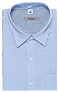 Champa Men's Italian Cotton Chekered Half Sleeve Shirt