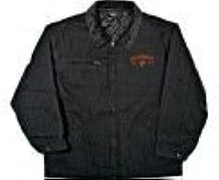 NCAA Purdue Boilermakers Tradesman Brushed Canvas Zip Front Workwear Jacket Men's