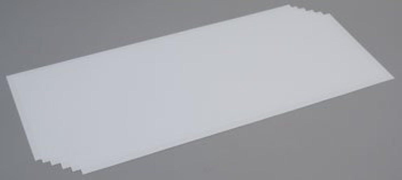 Weiß Sheet .015 x 8 x 21 (6) by EverGrün Scale Models