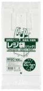 レジ袋(半透明)省資源タイプ 関東20号・関西35号 20冊×3箱入 RF20