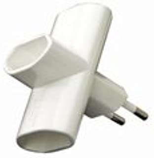 Adaptador Enchufe Triple Espiga 4 M Duolec 900R115