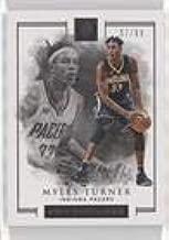 Myles Turner #57/99 (Basketball Card) 2016-17 Panini Impeccable - [Base] #22