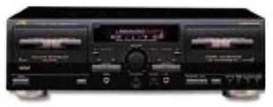 JVC TD-W354BK Dual Cassette Deck (Discontinued by Manufacturer)