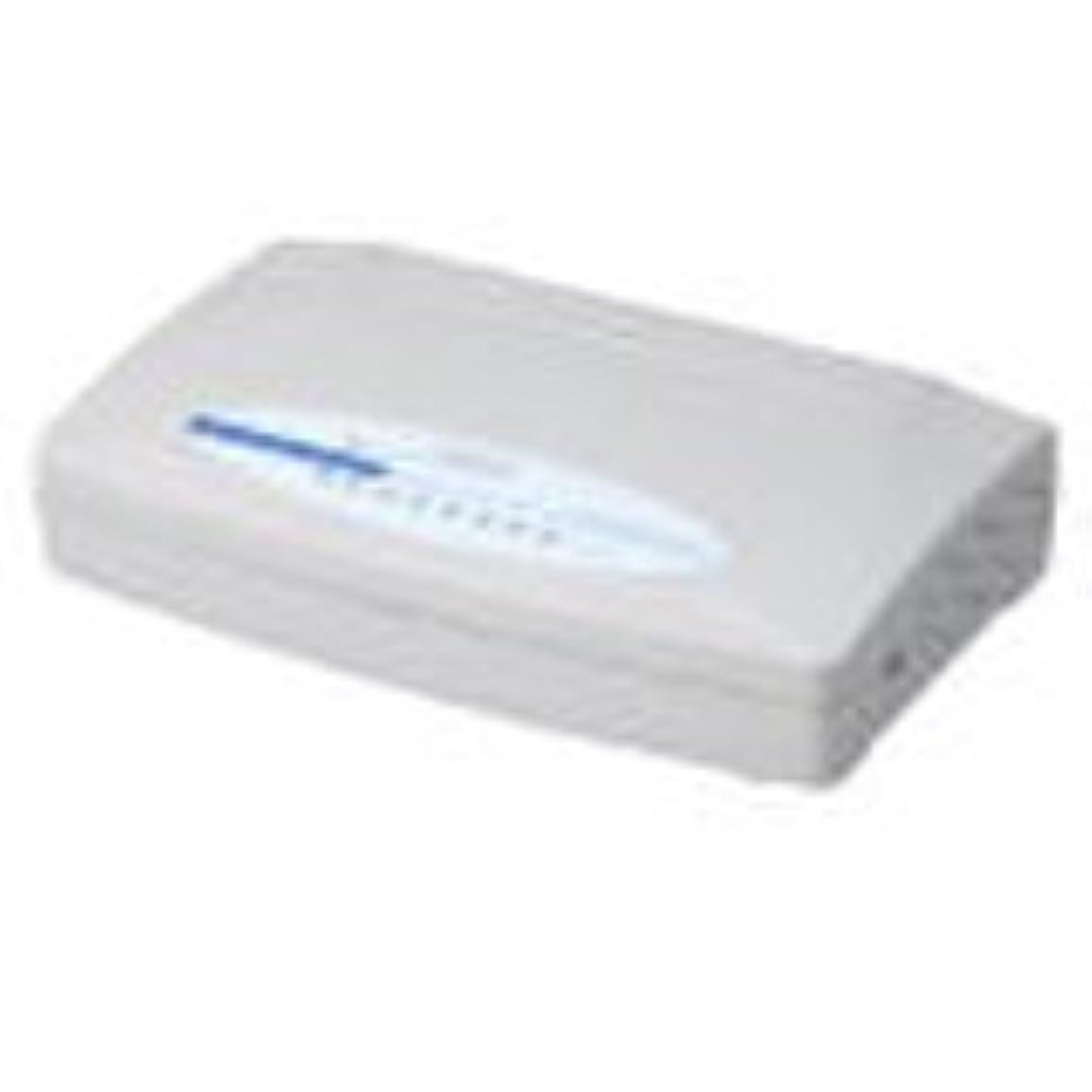 愛国的な有名な反逆Logitec 100BASE-TX対応スイッチングハブ(8ポート) LAN-SW08/P