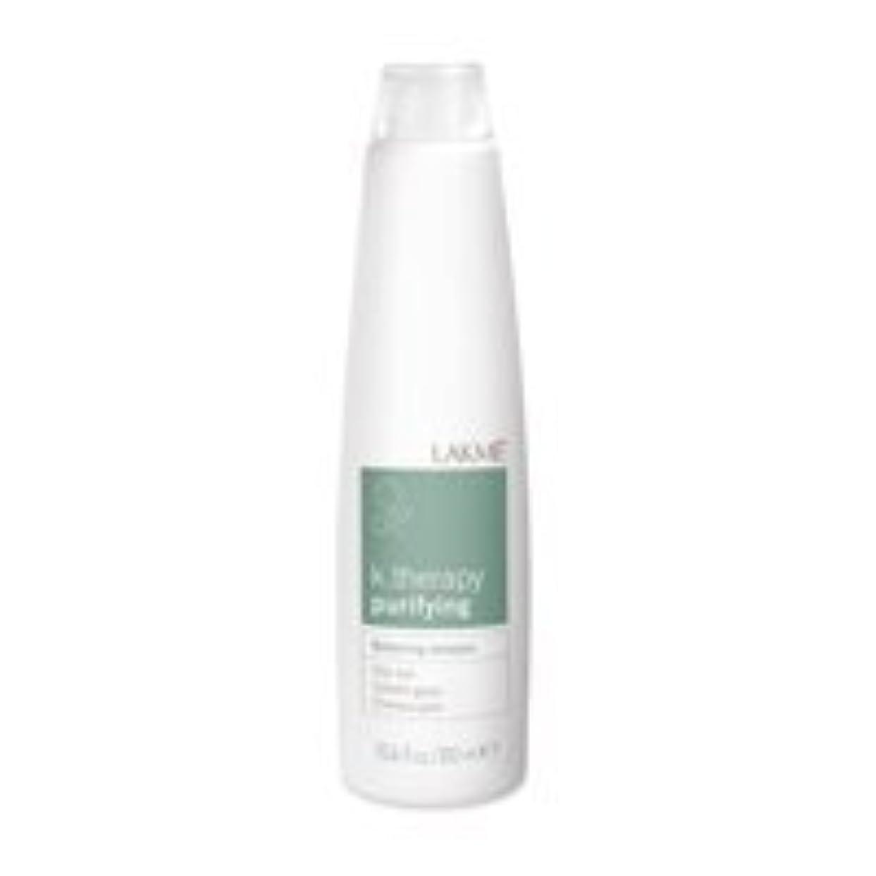 噛む選ぶセラフLakme K.Therapy Purifying Balancing Shampoo 10.2 oz by Lakme [並行輸入品]