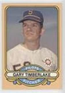 Gary Timberlake (Baseball Card) 1982 Renata Galasso 1969 Seattle Pilots - [Base] #4