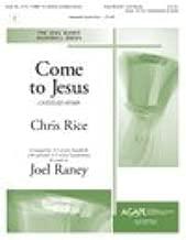 COME TO JESUS - Chris Rice - Joel Raney - Handbells - Sheet Music
