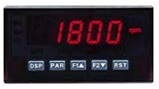 Red Lion Controls DP5P0010 - Process Meter w/Red Backlit Display & DCV Power