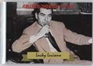 Lucky Luciano (Trading Card) 2016 Historic Autographs National Promos - [Base] #HA-BLO