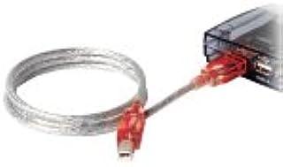 Belkin USB A/B CBL W/RED LED (F3U144-06-RED)