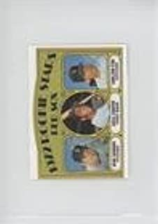 Carlton Fisk; Mike Garman; Cecil Cooper Mike Garman, Cecil Cooper (Baseball Card) 1989 Topps Double Headers - [Base] #CAFI