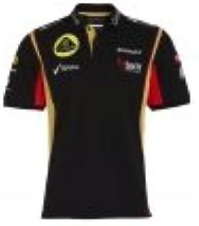 Lotus Renault Polo Camiseta Team Kimi 2013 F1 tamaño m: Amazon.es ...