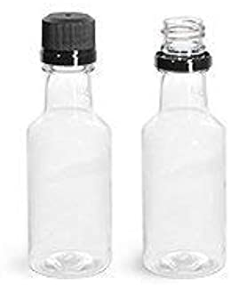 25 50ml Mini Empty Alcohol Party Favor Liquor Bottle Shots