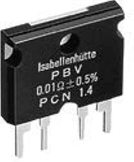 ピーシーエヌ ISA-PLAN イサプラン汎用シャント抵抗器 PBV 0.01Ω±0.5% PBVR010D