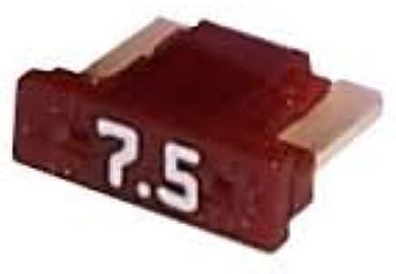 28 Pieces 5-30 AMP Slim Low Profile Mini Fuses 5A 7.5A 10A 15A 20A 25A 30A Set