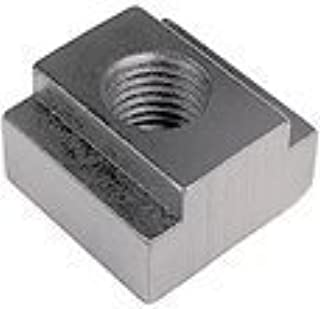 C: 13mm E: 19mm T-Slot Nuts TECO Brand M10 x 1.5 Thread x 12mm Table Slot 2 Pcs. D: 7mm F: 22mm