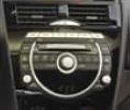 Accesorios originales Mazda (FF64-79-EGX) Cambiador de CD en el tablero de 6 discos