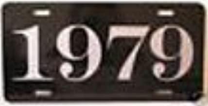 1979 79 YEAR METAL LICENSE PLATE TAG 6 X 12 FITS FORD CHEVY LINCOLN MERCURY BUICK PINTO CAMARO MUSTANG CORVETTE MONTE Classic Museum Collection Novelty Gift Sign GARAGE MAN CAVE