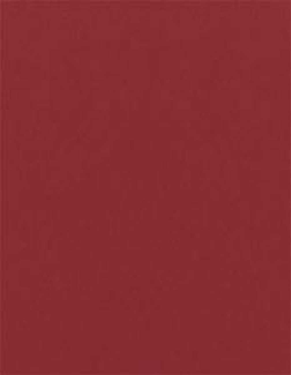 Firecracker Red 80 lb. Cardstock Paper - 8.5 x 11 inch Cover - 25 Sheets