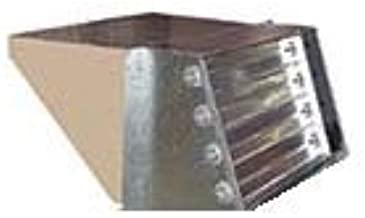 Allied Commercial Z1DAMP20B-2 14G36 Motorized Outside Air Damper with Outside Air Hood, 44 lbs