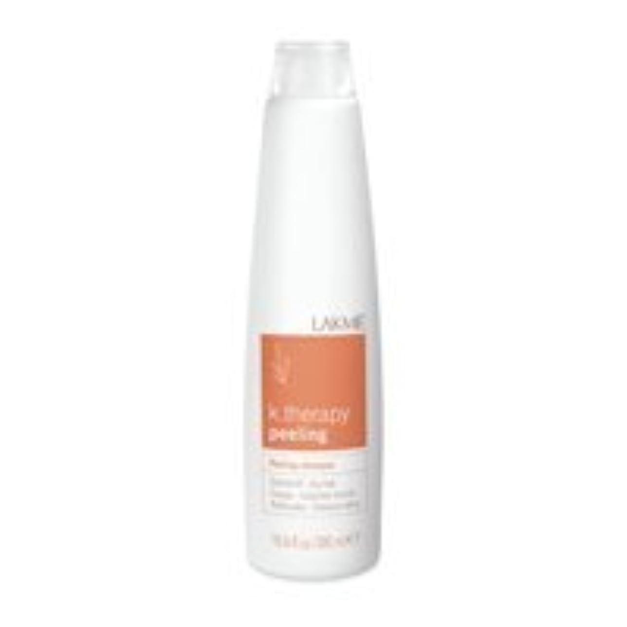 キャッチ調停するアノイLakme K.Therapy Peeling Shampoo Dry Hair 10.2 oz [並行輸入品]