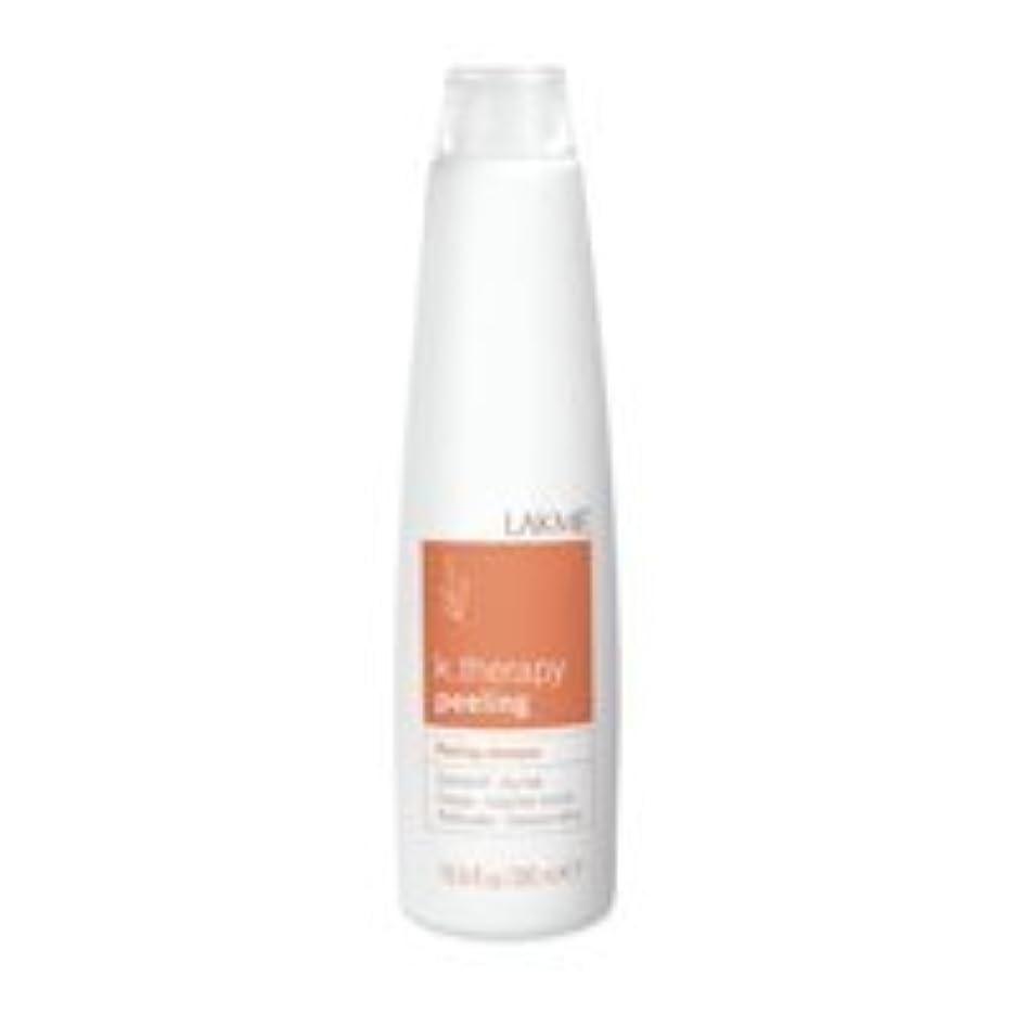 キャンディー飾り羽要塞Lakme K.Therapy Peeling Shampoo Dry Hair 10.2 oz [並行輸入品]