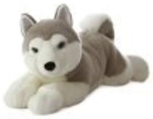 Aurora World Super Flopsie Yukon Husky Dog Plush, 27  by Aurora