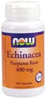 Echinacea by Now Foods - (400mg - 100 Capsules)