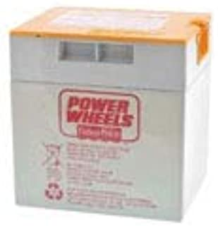 Technical Precision Replacement for 00801-1776 Fisher Price POWERWHEELS 12 Volt Orange Battery Battery