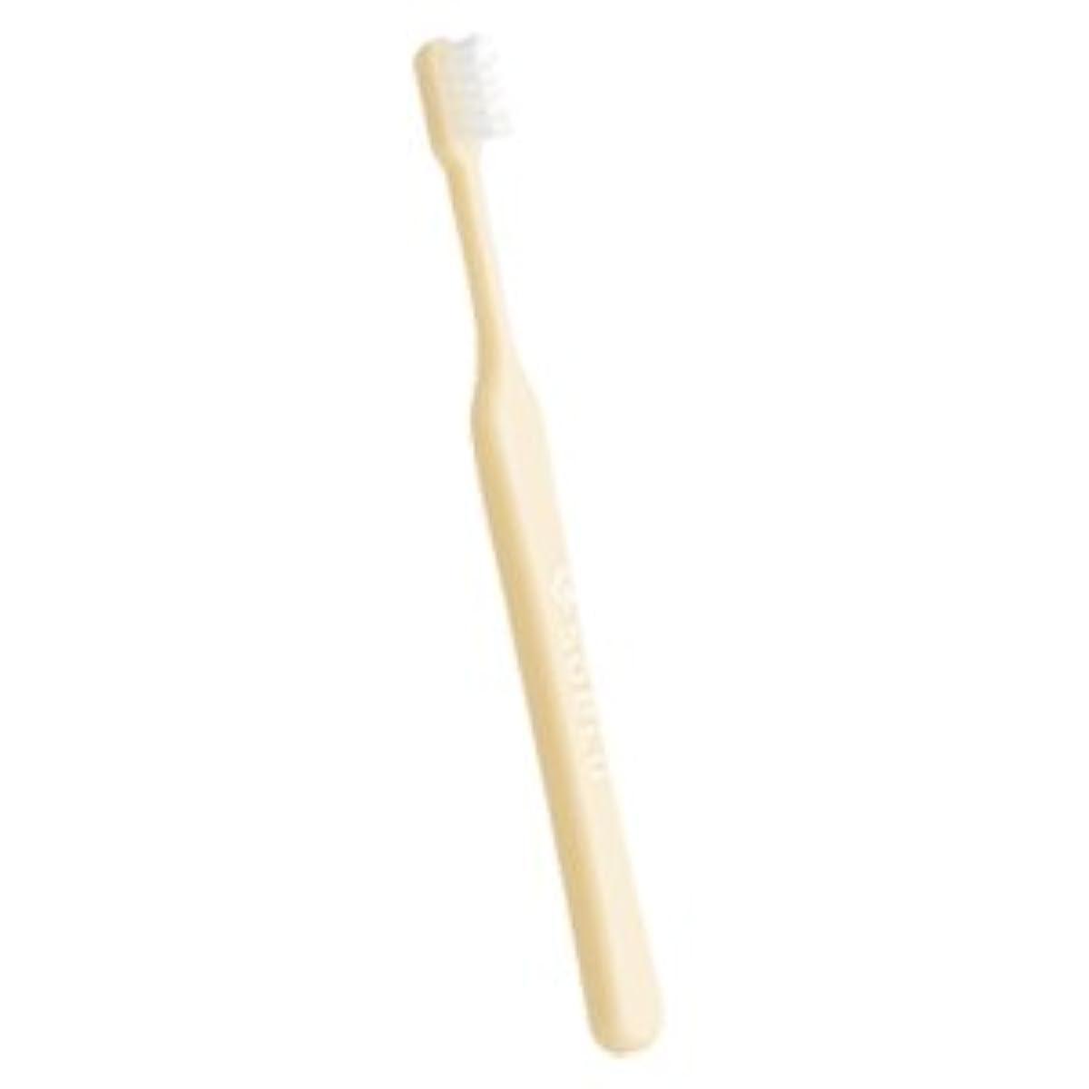 ピストル株式仮装soelu ソエル 歯ブラシ チャイルド(3から7歳) 1本 やわらかめ(S) パステルイエロー