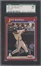 Jeff Bagwell Graded SGC 96 MINT 9 (Baseball Card) 1991 Score Rookie & Traded - Box Set [Base] #96T