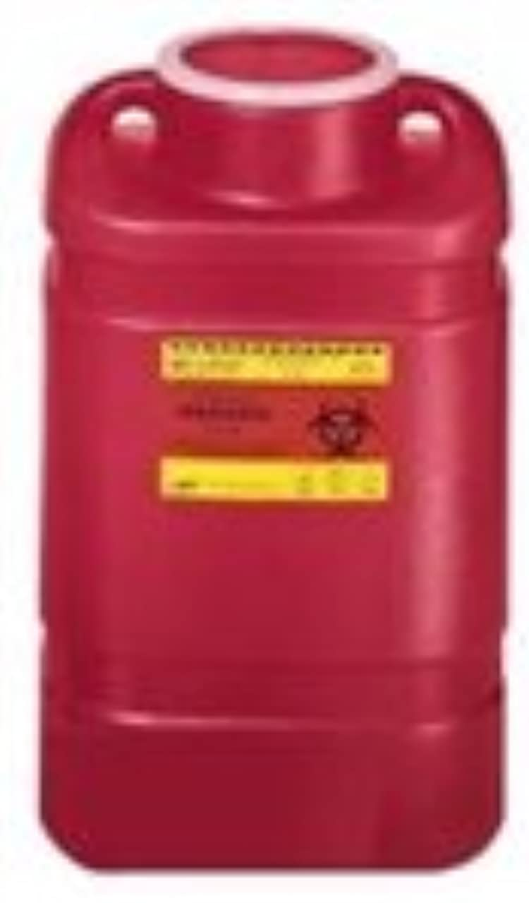 Becton-Dickinson Multi Purpose Sharps Container 1 Piece 5 Gallon by B-D