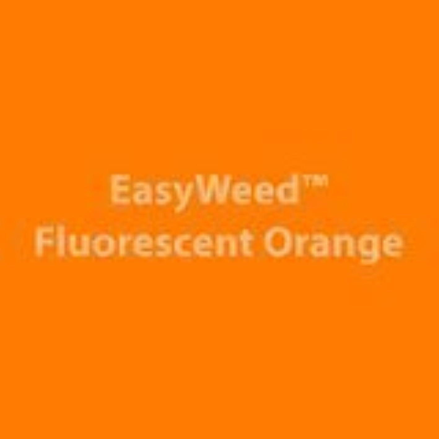 Siser Easyweed Fluorescent Orange Heat Transfer Vinyl 12x15 Sheet - Southern Signage - Craft Vinyl - HTV - Siser Easyweed trhiksedesl822