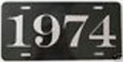 1974 74 YEAR METAL LICENSE PLATE TAG 6 X 12 FITS CHEVY BUICK PONTIAC DODGE PLYMOUTH CUDA DUSTER TRANS AM CHARGER FIREBIRD HOT Rod Muscle CAR Classic Museum Collection Novelty Gift Sign GARAGE MAN CAVE
