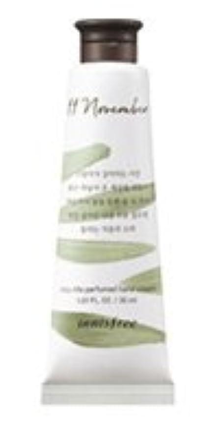 誕生田舎者極めて重要な[1+1] イニスフリー 済州ライフパフューム ハンドクリーム (11月 秋の落葉) / Innisfree Jeju life Perfumed Hand Cream 30ml [並行輸入品]