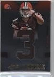 Brandon Weeden #65/99 (Football Card) 2012 Absolute - Rookie Premiere Materials - Jumbo Jersey Number #205