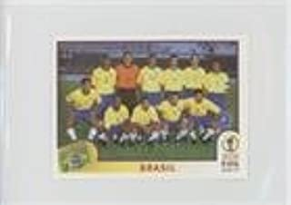 Brazil Brazil (Trading Card) 2002 Panini FIFA World Cup Korea Japan Album Stickers - [Base] - Blue Back #169
