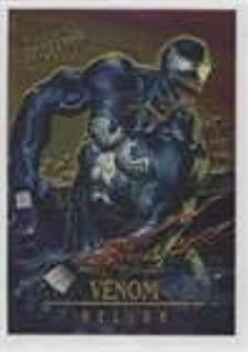 fleer ultra spiderman masterpieces venom