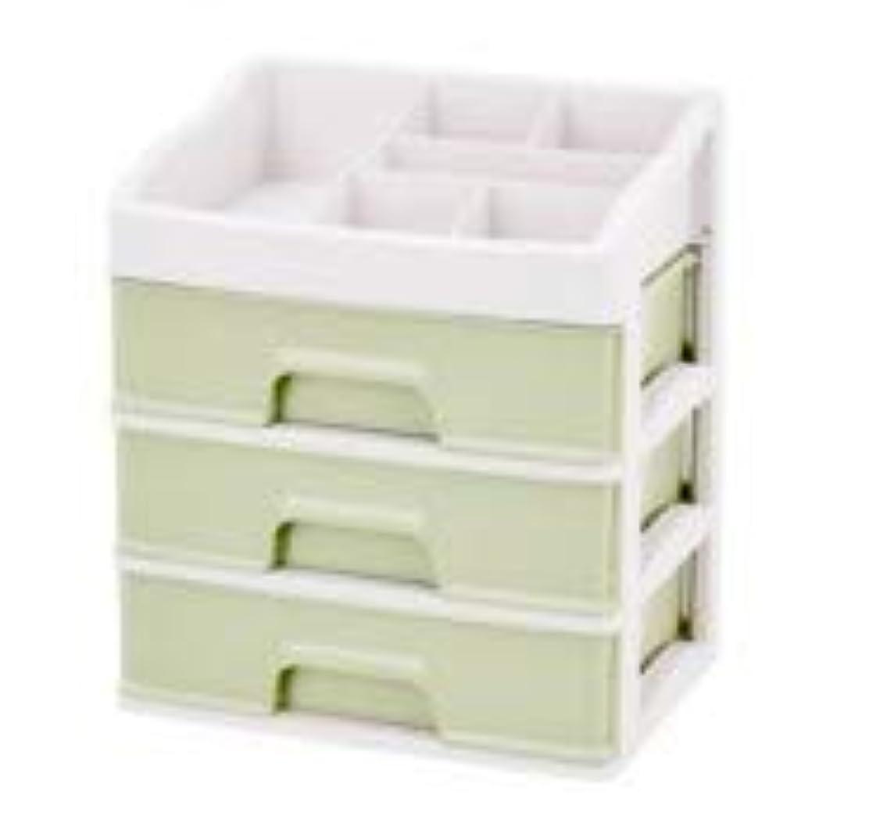 安定したデマンド規則性化粧品収納ボックス引き出しデスクトップ収納ラック化粧台化粧品ケーススキンケア製品 (Size : L)