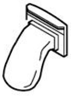 シャープ[SHARP] オプション・消耗品 【2103370244】 洗濯機用 糸くずフィルター(210 337 0244)