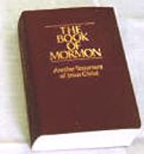 The Book of Mormon Miniature Pocket Sized Edition - 3.5 Inches Wide by 5 Inches Tall