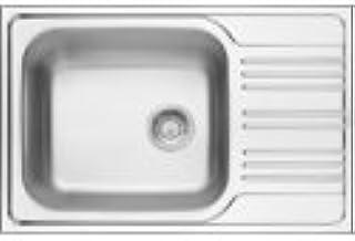 Scccsale- Deante-1 Becken Spüle mit Abtropffläche-Länge 780 mm Breite 500 mm-Abfluss 3,5-Antiseptische Eigenschaften